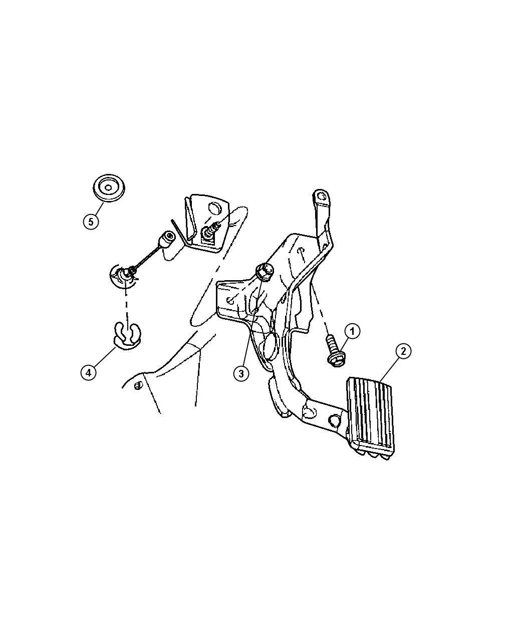 Dodge Ram Pedal Accelerator Controlled Pedalselectronically Pedalbrakepower