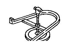 Dodge Durango Tensioner. Parking brake cable. Adjuster