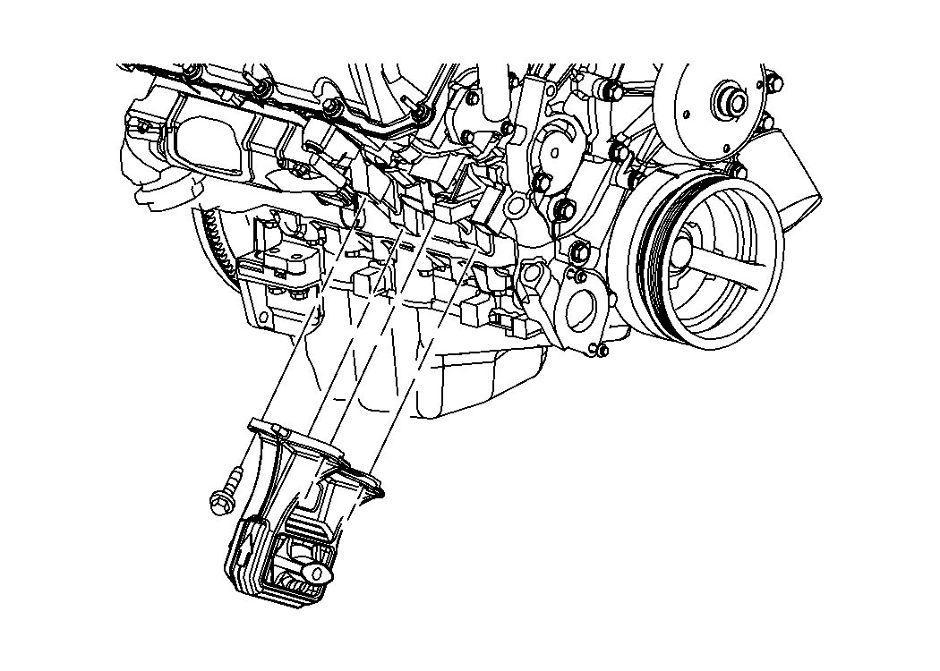 2002 Jeep Grand Cherokee Brace, bracket. Vapor canister