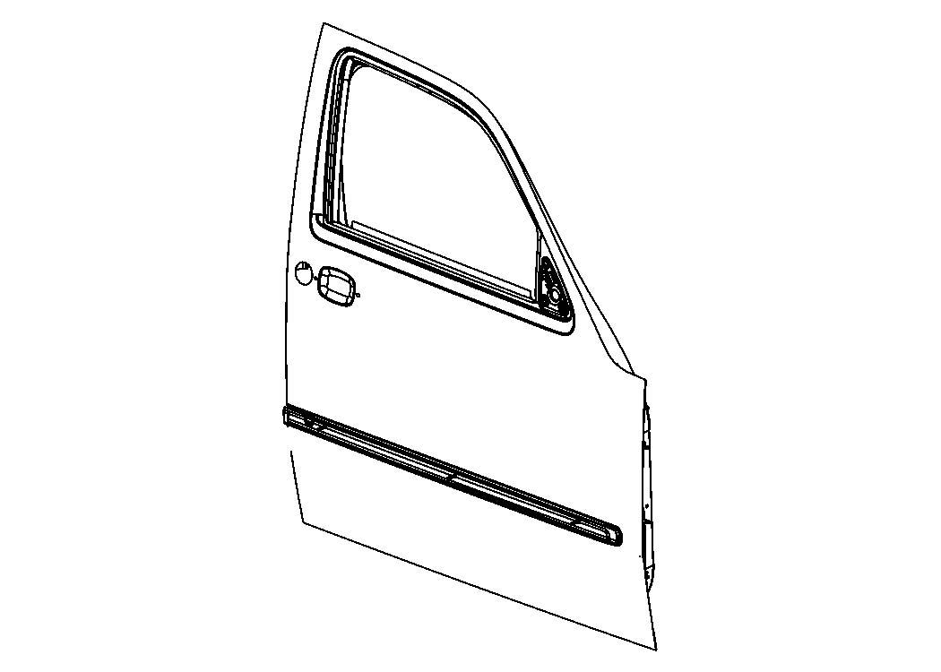 2011 Dodge Dakota Cabin Air Filter, complete kit