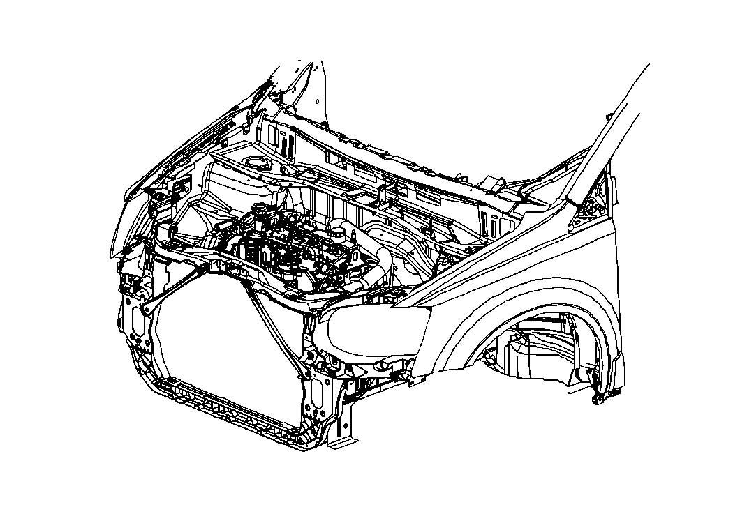 2006 Dodge Magnum Fascia. Rear. [rear dual exhaust] dual