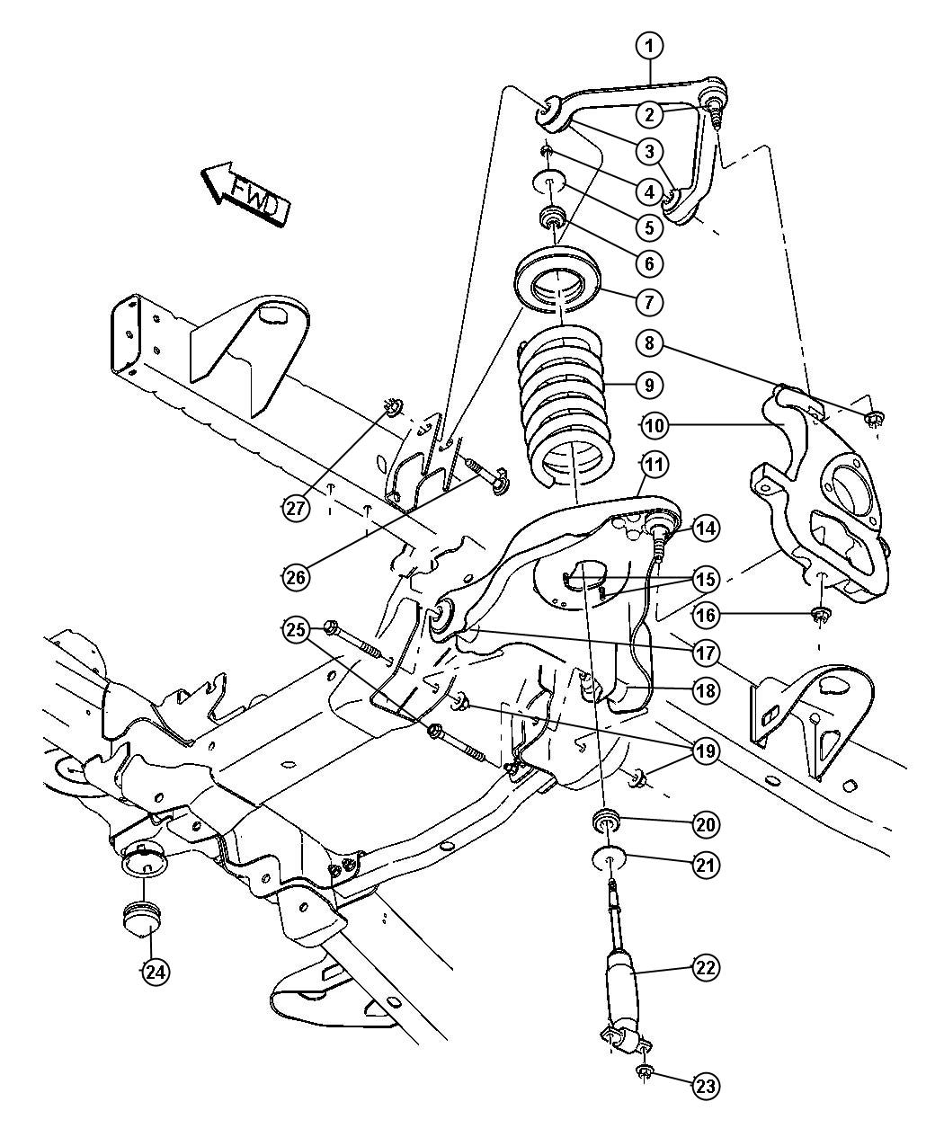 05 F350 Front Suspension Diagram, 05, Free Engine Image