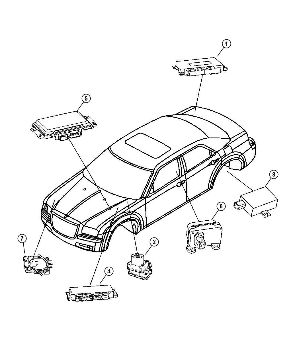Jeep Body Control Module Location : BODY CONTROL MODULE