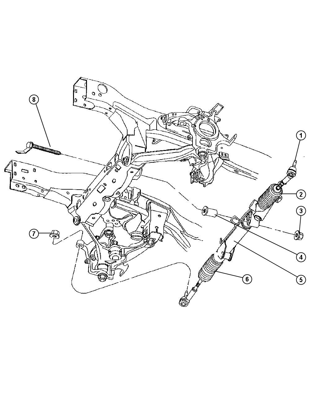 Dodge Durango Rack And Pinion Diagrams