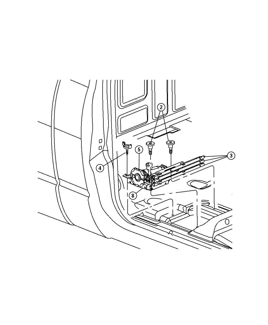 Dodge Ram 1500 Bag. Jack tool storage. Scissor