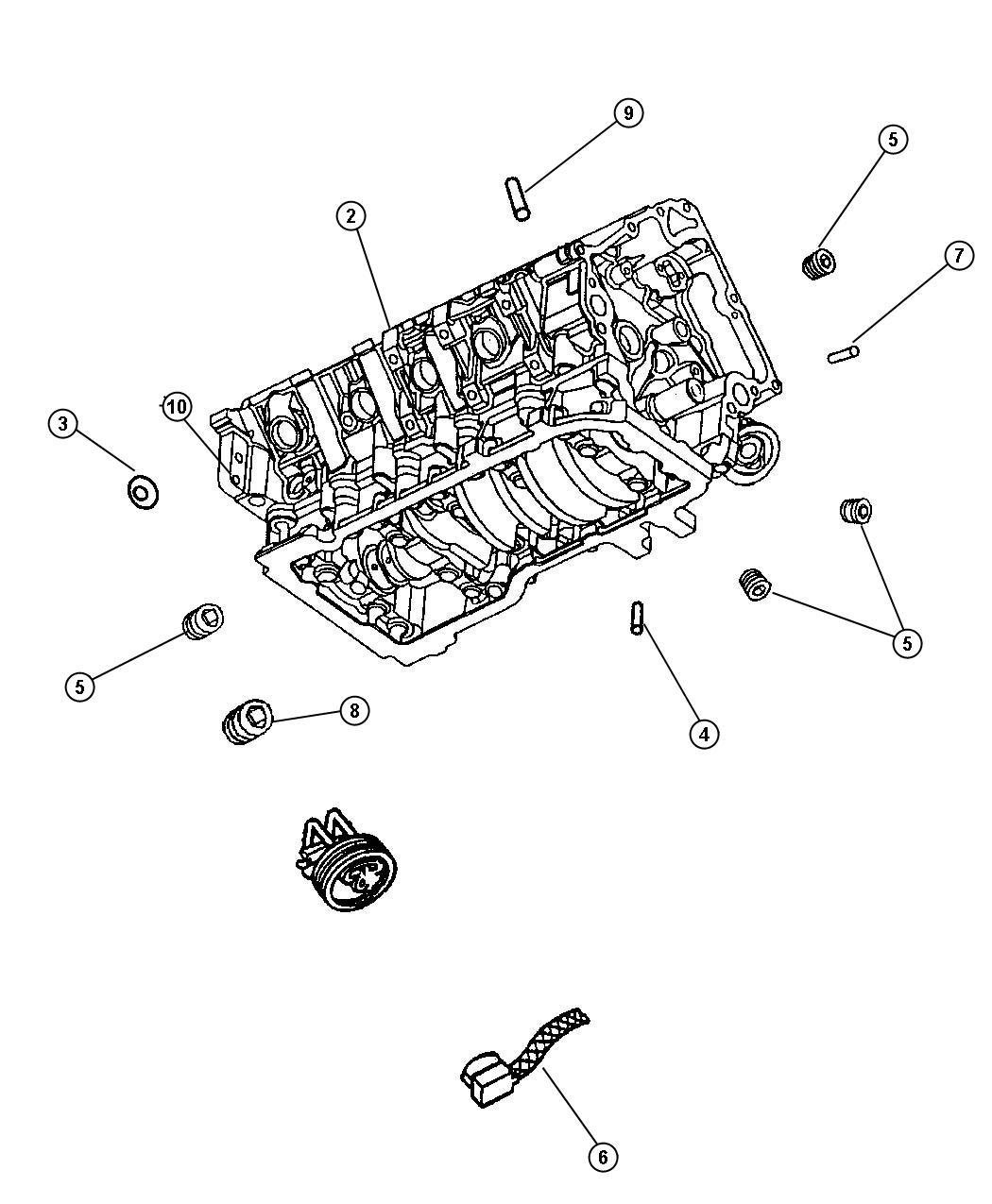 Dodge Dakota Cord Engine Block Heater