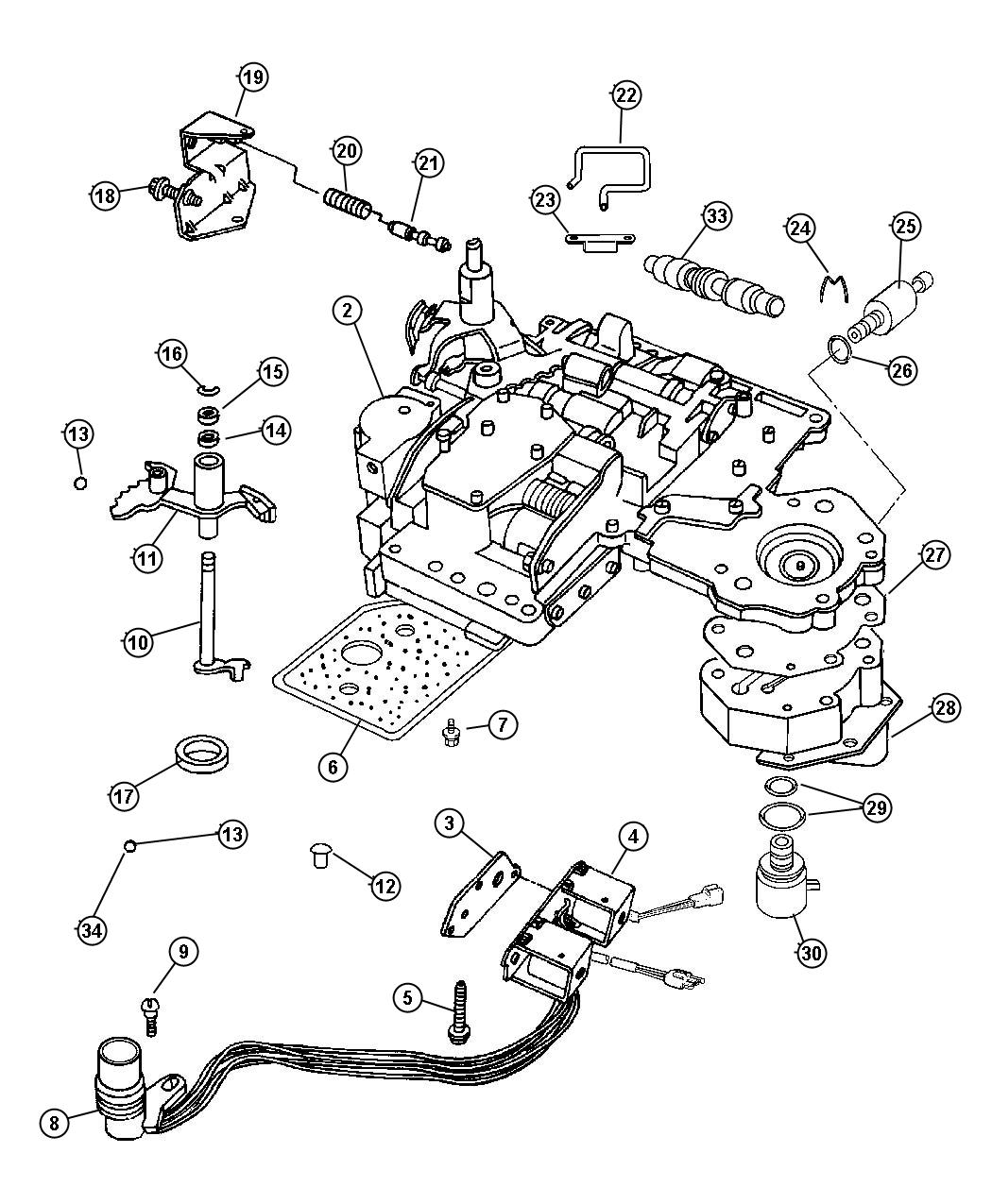 Service manual [How To Install 2006 Dodge Viper Valve Body