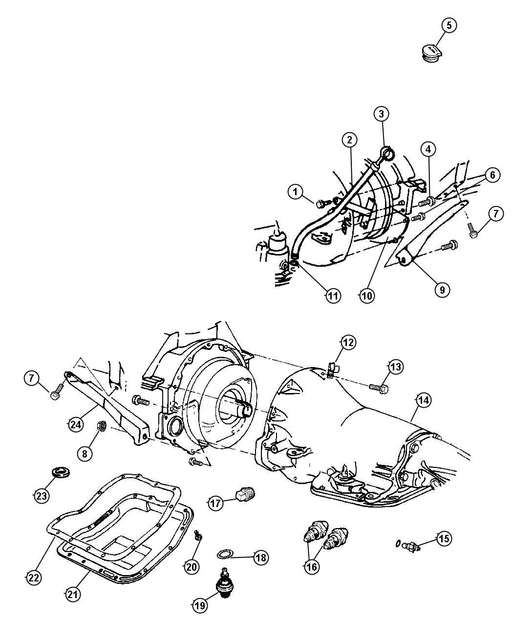 Dodge Ram 1500 Grommet. Timing probe. Bnd, nbr, panclutch