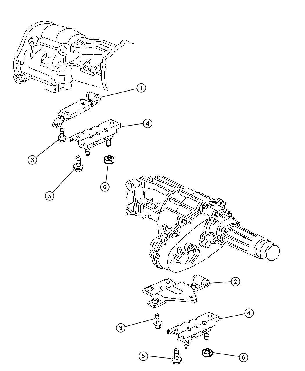 Chrysler 300 Bracket. Automatic transmission. Transmission