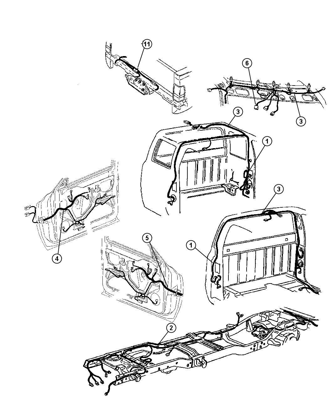 Dodge Ram 1500 Wiring. Left, power. Seat. Power seat, seat