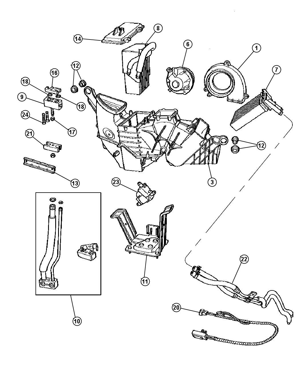 Service manual [1998 Plymouth Voyager Mode Actuator