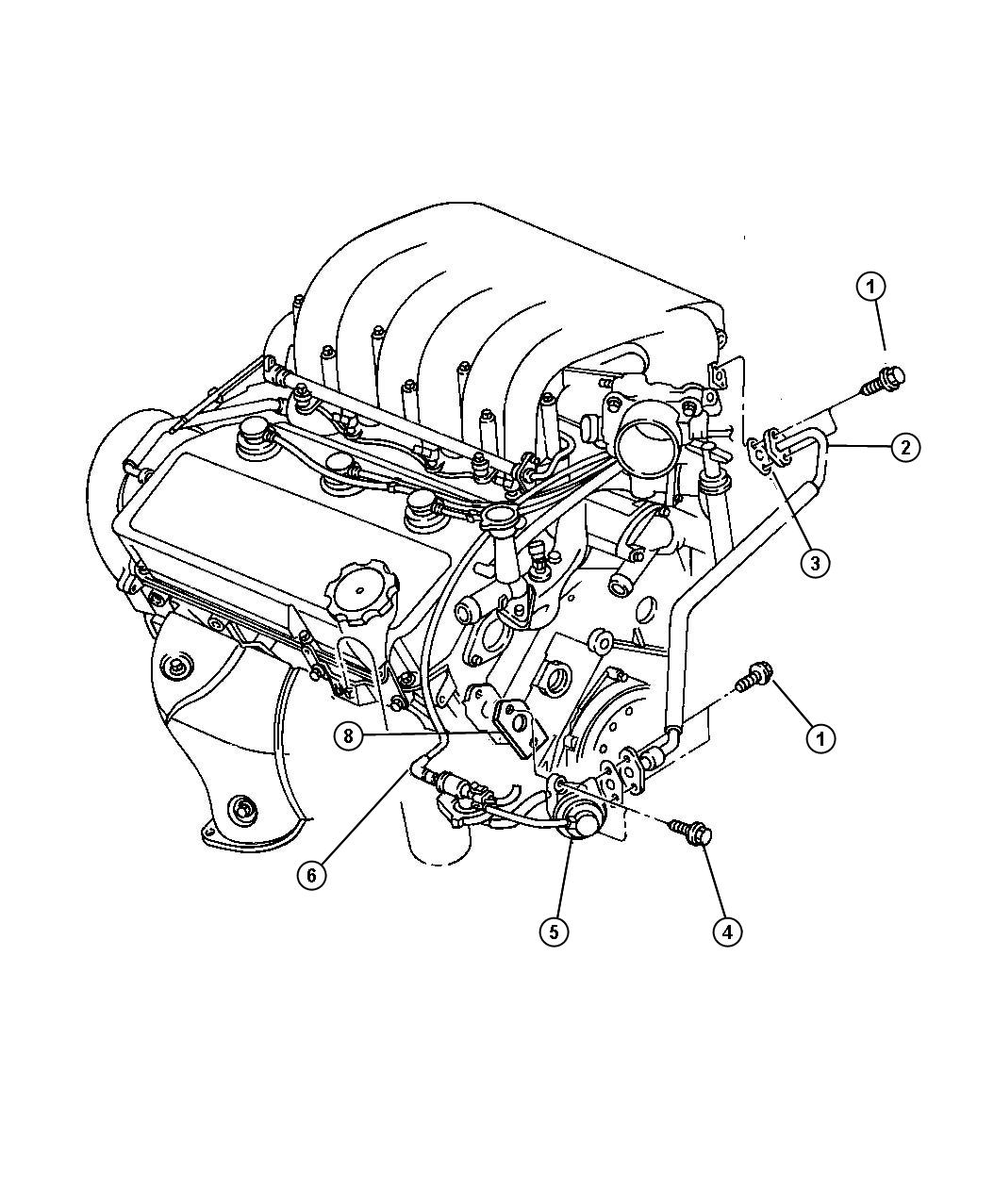 1998 Dodge 2 5l Engine Diagram Stratus. Dodge. Auto Wiring