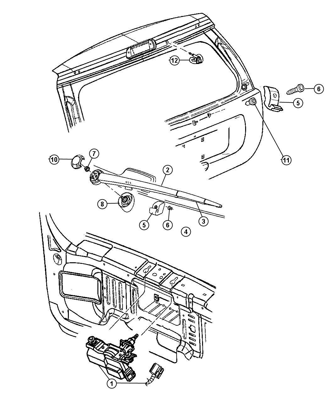 Dodge Ram Sensor Washer Fluid Level