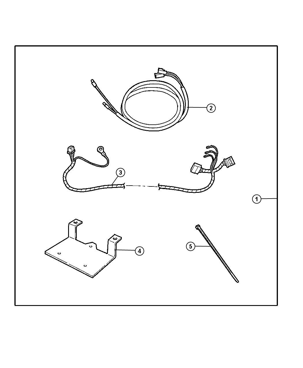 Dodge Ram 3500 Harness. Overlay. Kitsatellite, installl