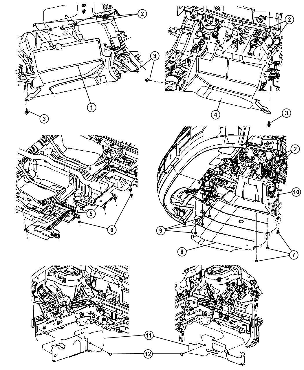 Service manual [2007 Dodge Caliber Engine Removal Process