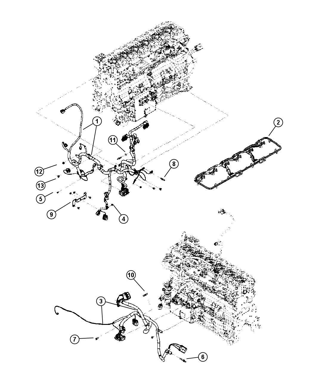 Wiring engine 5