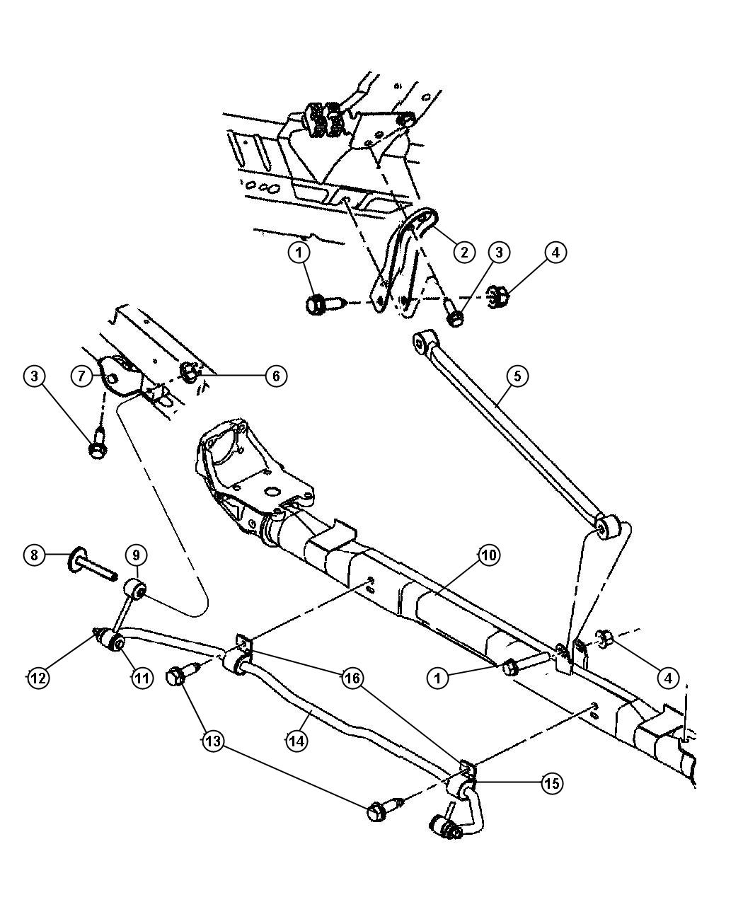 Dodge Grand Caravan Bracket Mounting Track Bar