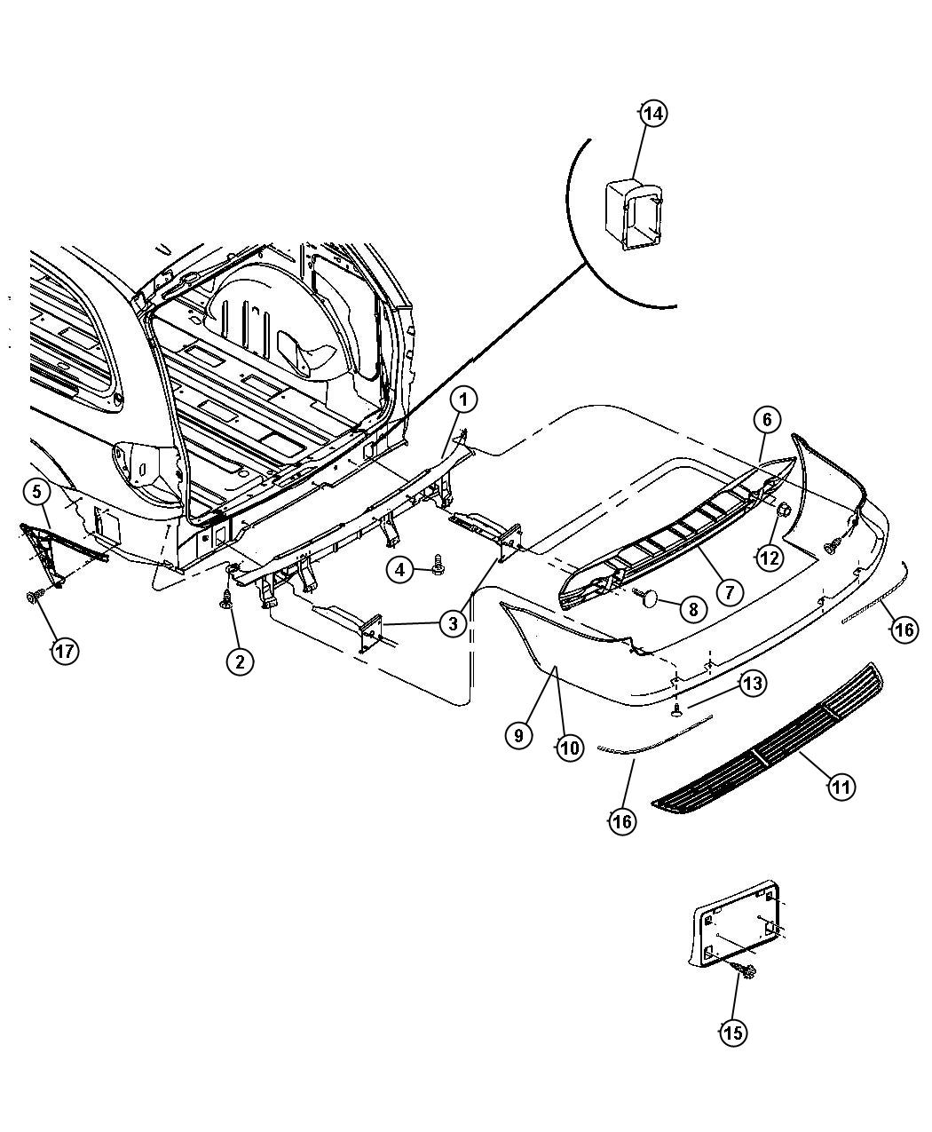 2012 Toyota Highlander Liftgate Parts Diagram. Toyota