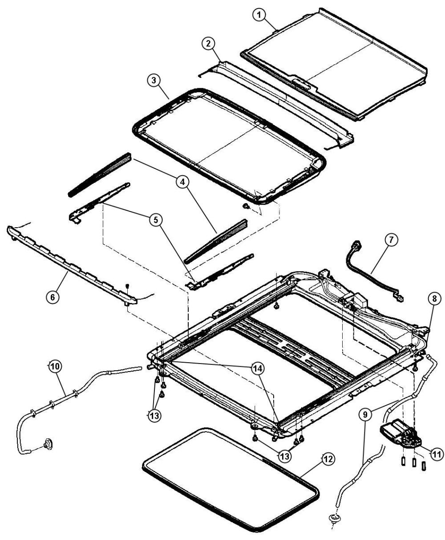 medium resolution of factory ford sunroof parts wiring diagram fuse box 2019 hyundai veracruz 2007 hyundai veracruz inside