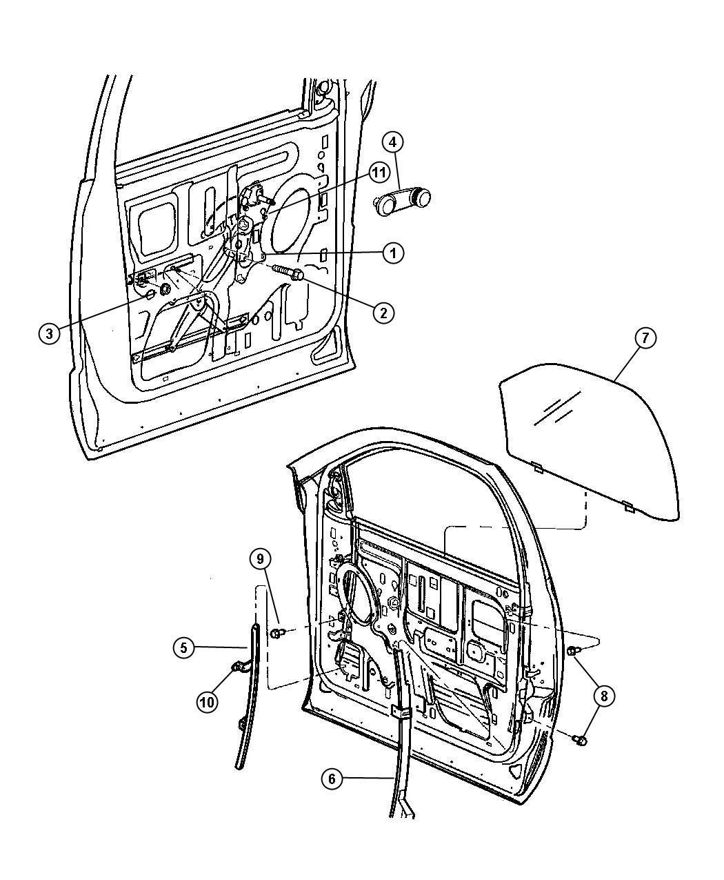 Dodge Ram 1500 Handle. Window regulator. Used for: right