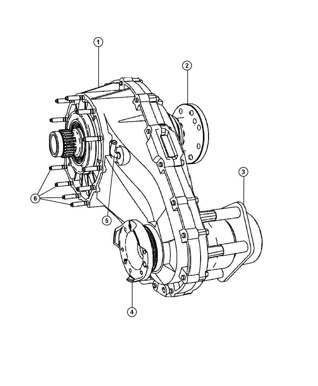 Jeep Grand Cherokee Transfer Case Assembly And