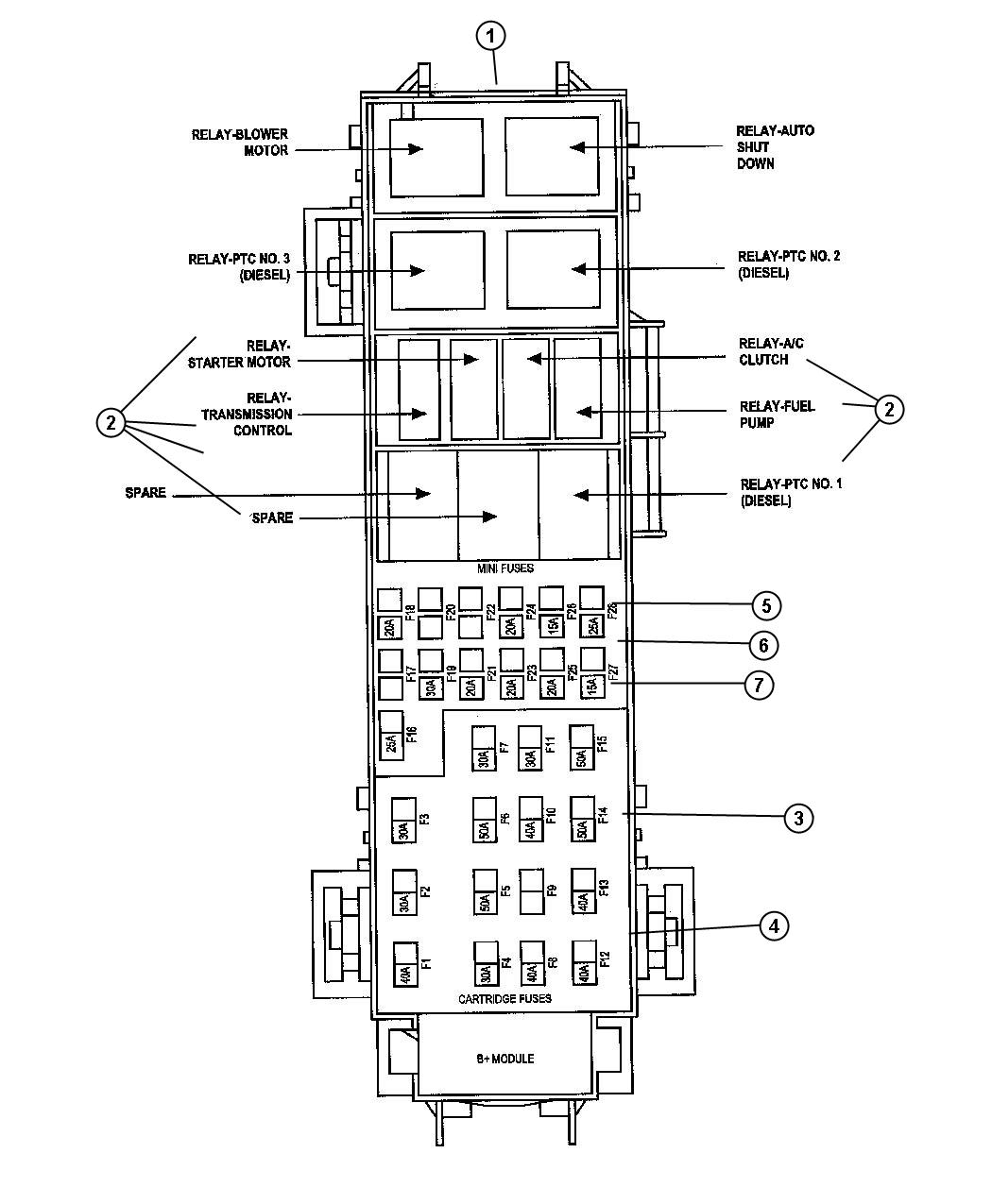 Jeep Commander Relay Diagram, Jeep, Free Engine Image For