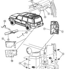 2006 Jeep Commander Fuse Box Diagram 4 Wire Ac Motor Wiring Lift Gate Parts Auto