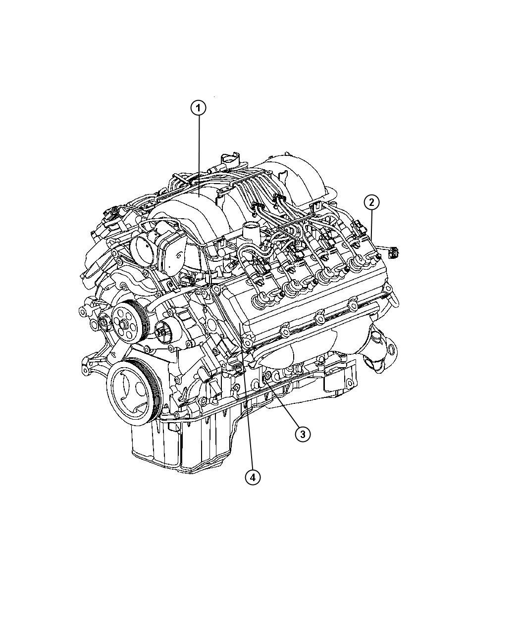 Dodge Charger Engine Assembly And Identification 5.7L [EZB]