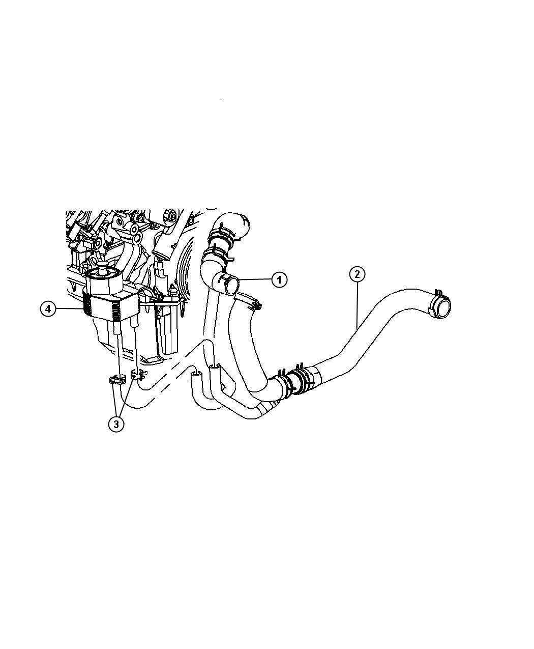 Engine Oil Cooler 5 7l 5 7l Hemi Multi Displacement Engine