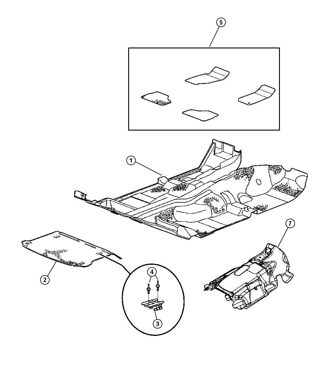 2011 Jeep Liberty Shield. Exhaust, floor pan. Muffler