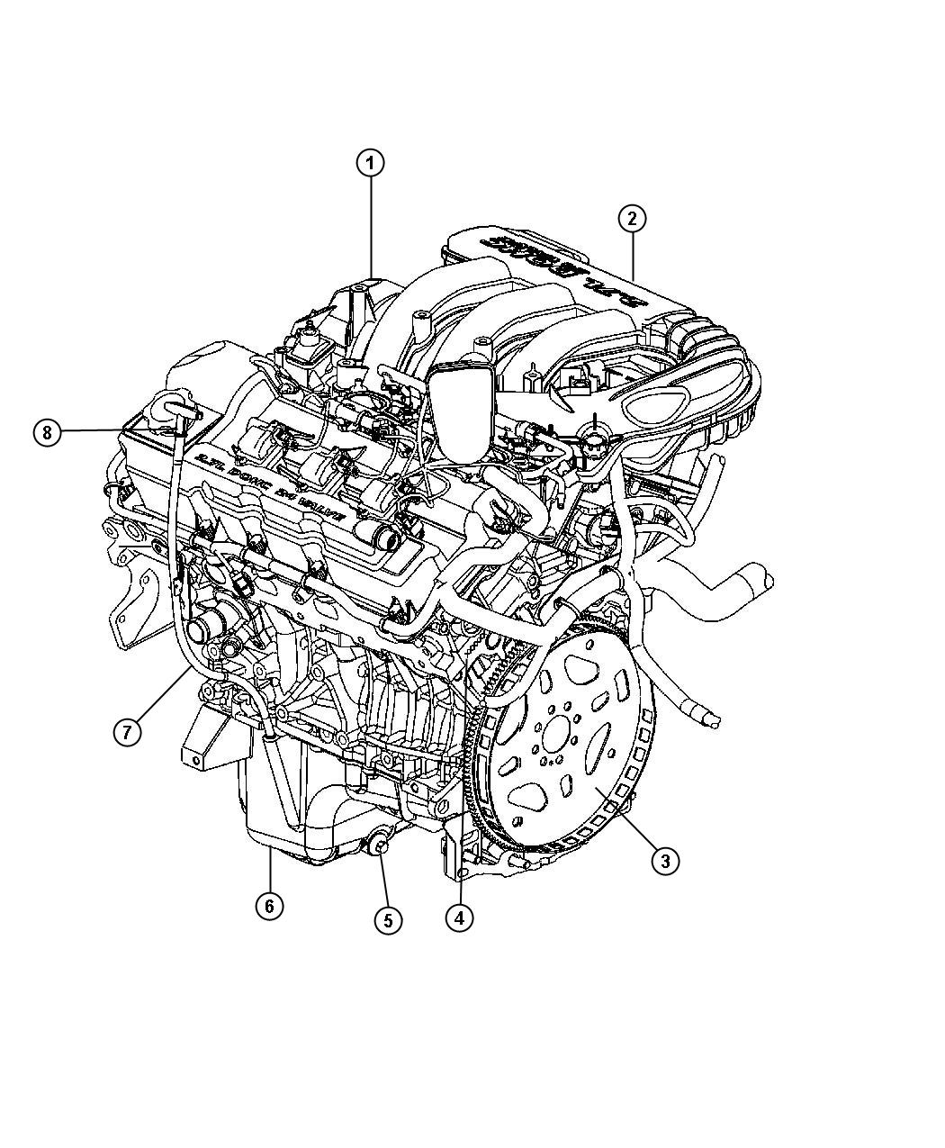 Picture Of Chrysler 300 Motor And Engine Parts, Picture