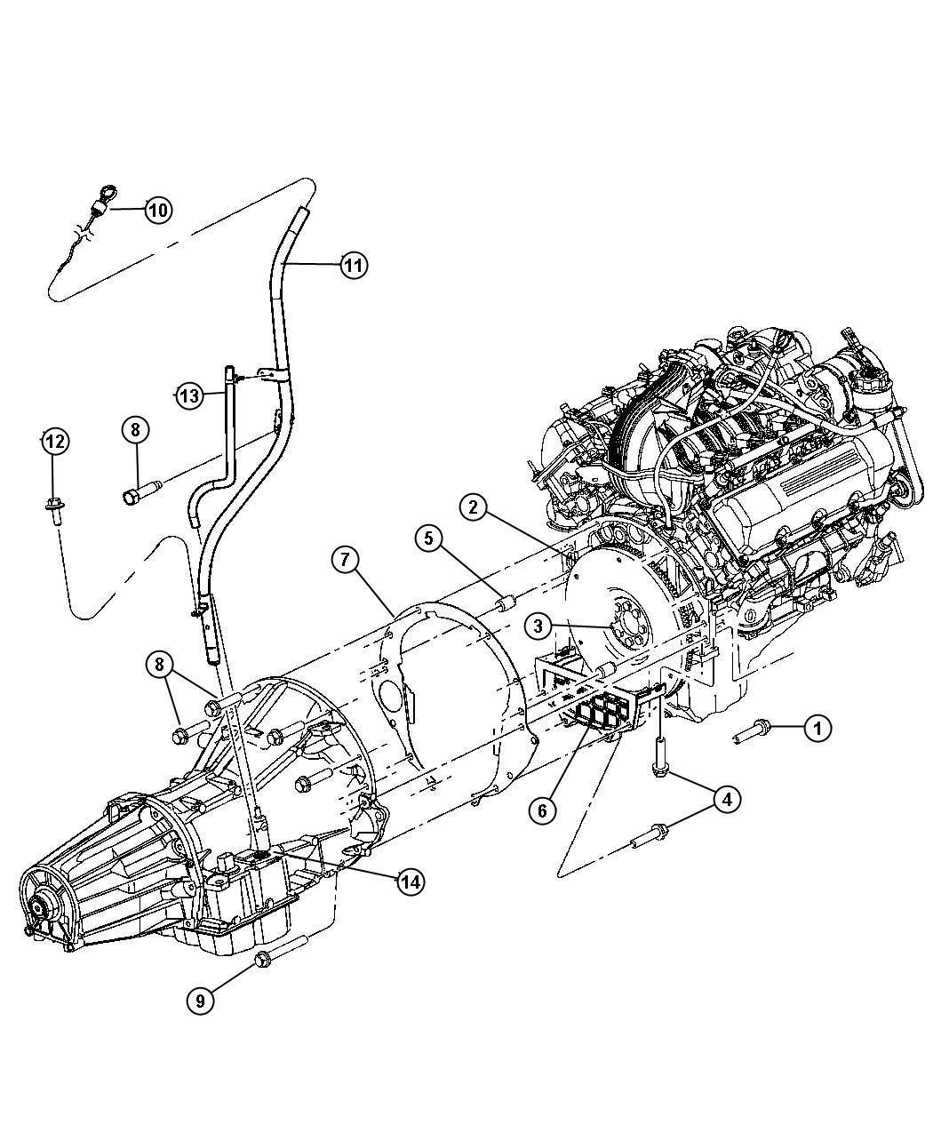 Jeep Liberty Indicator Transmission Fluid Level