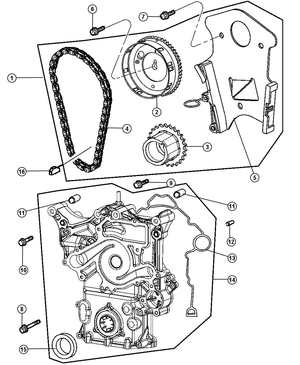 Service manual [2007 Chrysler Aspen Timing Chain