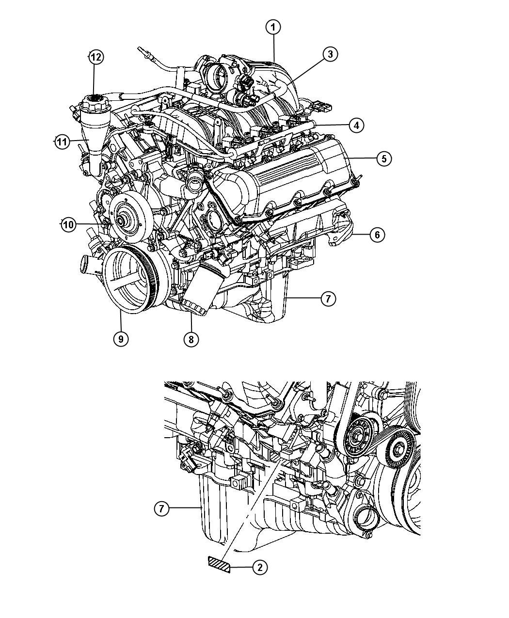 hight resolution of jeep liberty 3 7l engine diagram jeep auto wiring diagram 1997 toyota tacoma engine diagram chrysler 2 7l engine