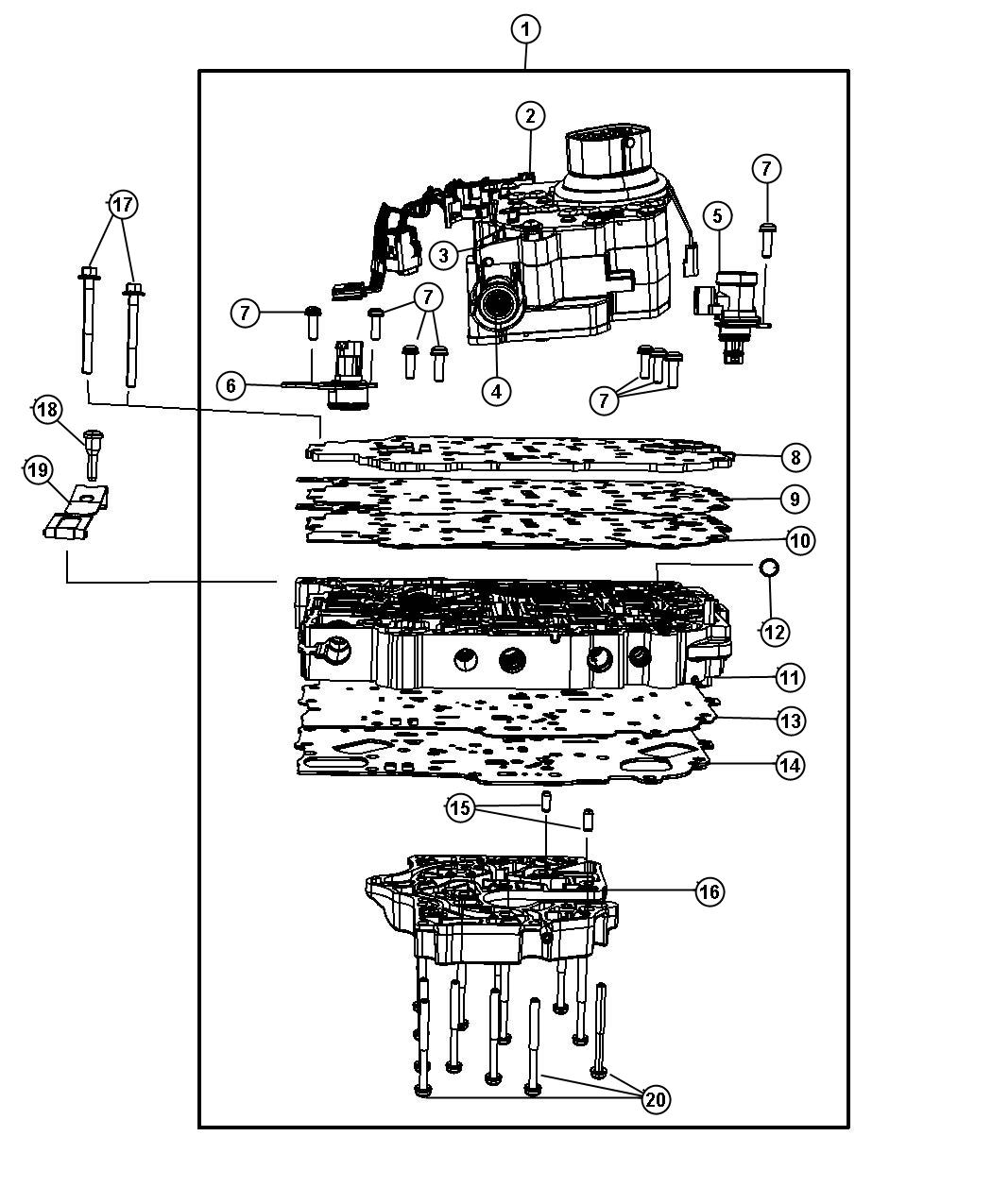 Dodge 62te Transmission Diagram Jeep 42RE Transmission