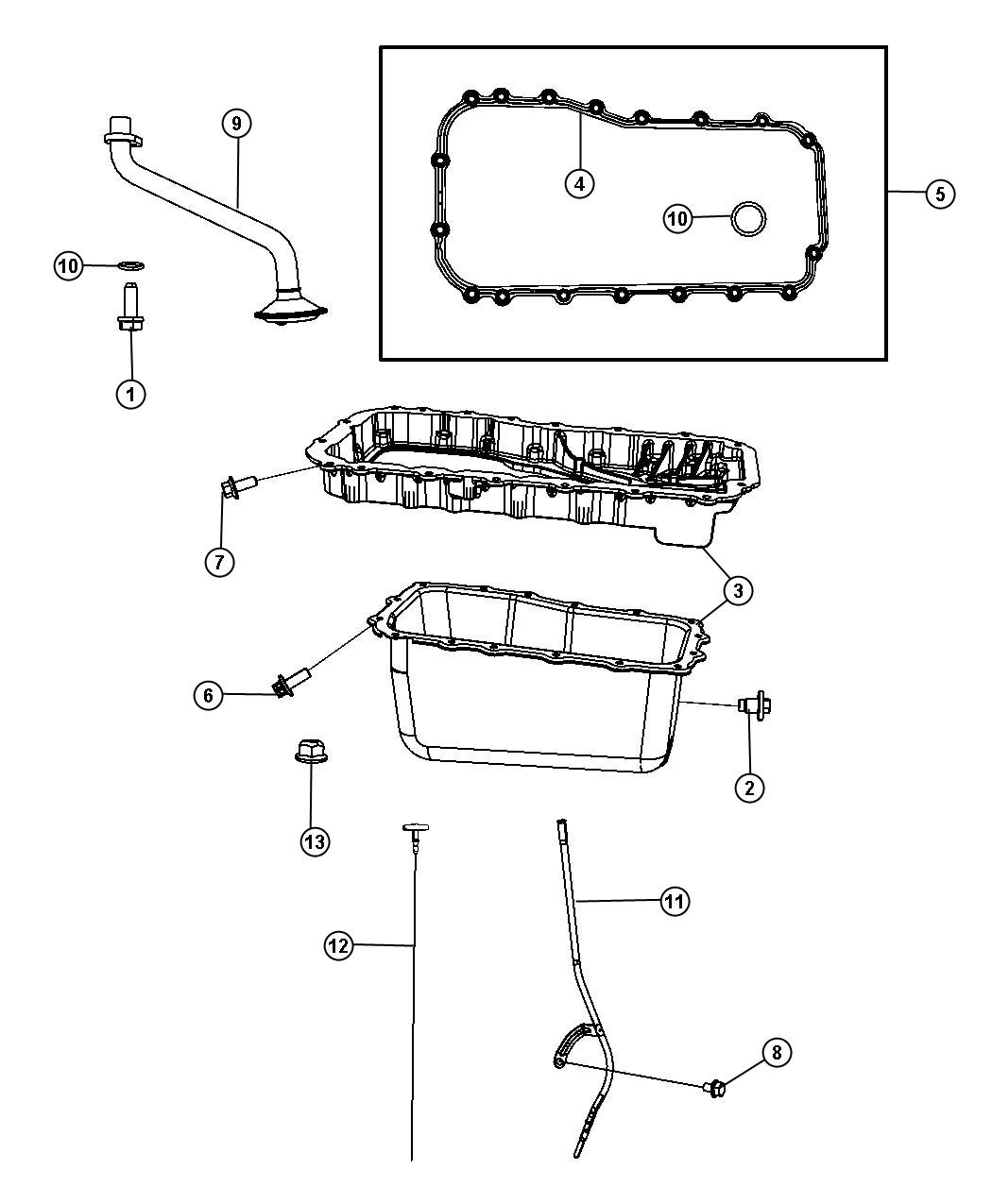 Dodge Caravan Oil Pan Location, Dodge, Free Engine Image
