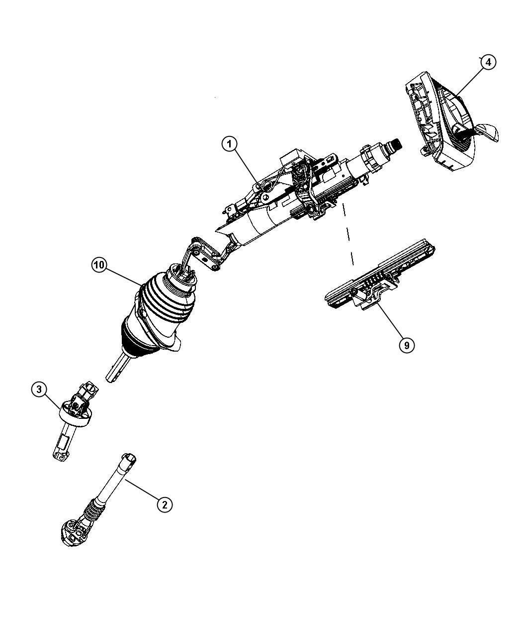 Service manual [2005 Chrysler 300c Tilt Steering Column
