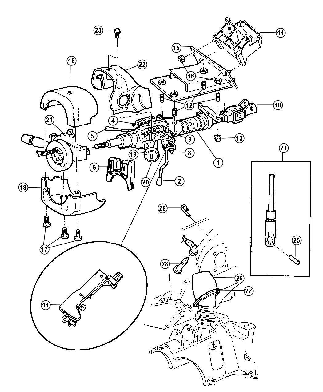 [DIAGRAM] Corvette Steering Column Diagram FULL Version HD
