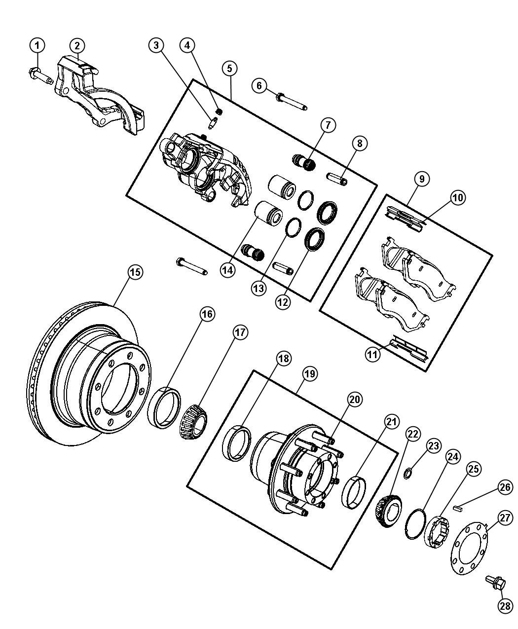 Service manual [Diagram For A 2008 Dodge Ram Swingarm