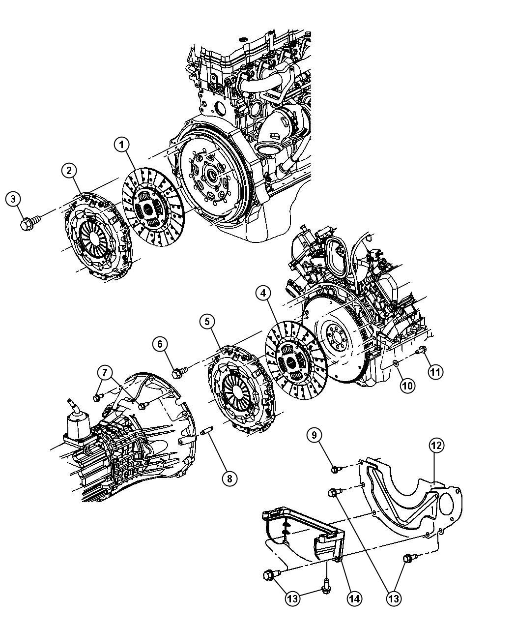 Dodge Ram Clutch Assembly