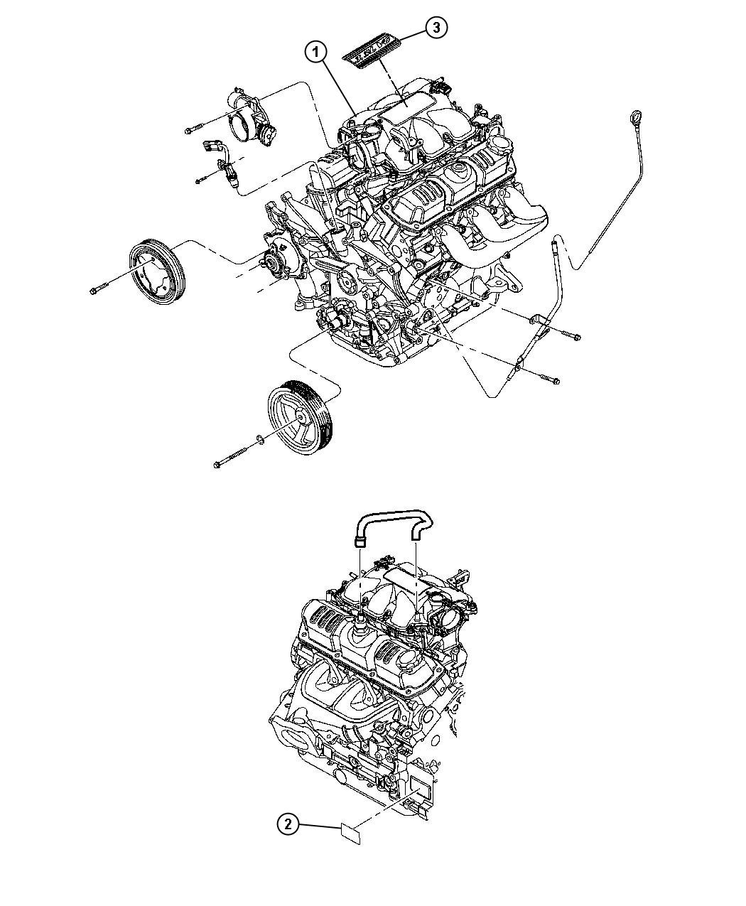 Jeep Wrangler Engine. Long block. Remanufactured