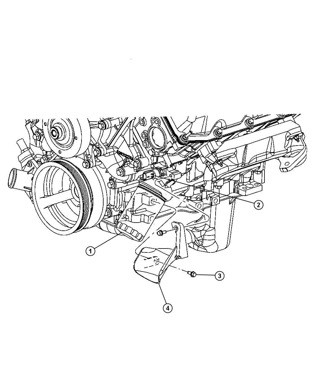 Chrysler 300 Sending Unit Oil Pressure Temperture