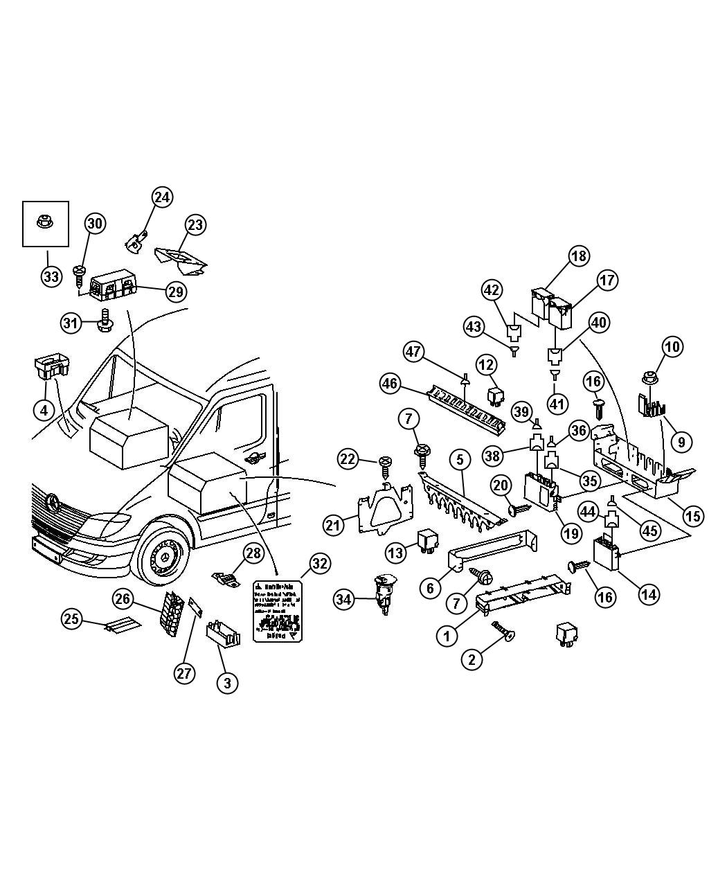 hight resolution of 2007 dodge ram 2500 fuse box location wiring library 2014 mercedes sprinter fuse box diagram