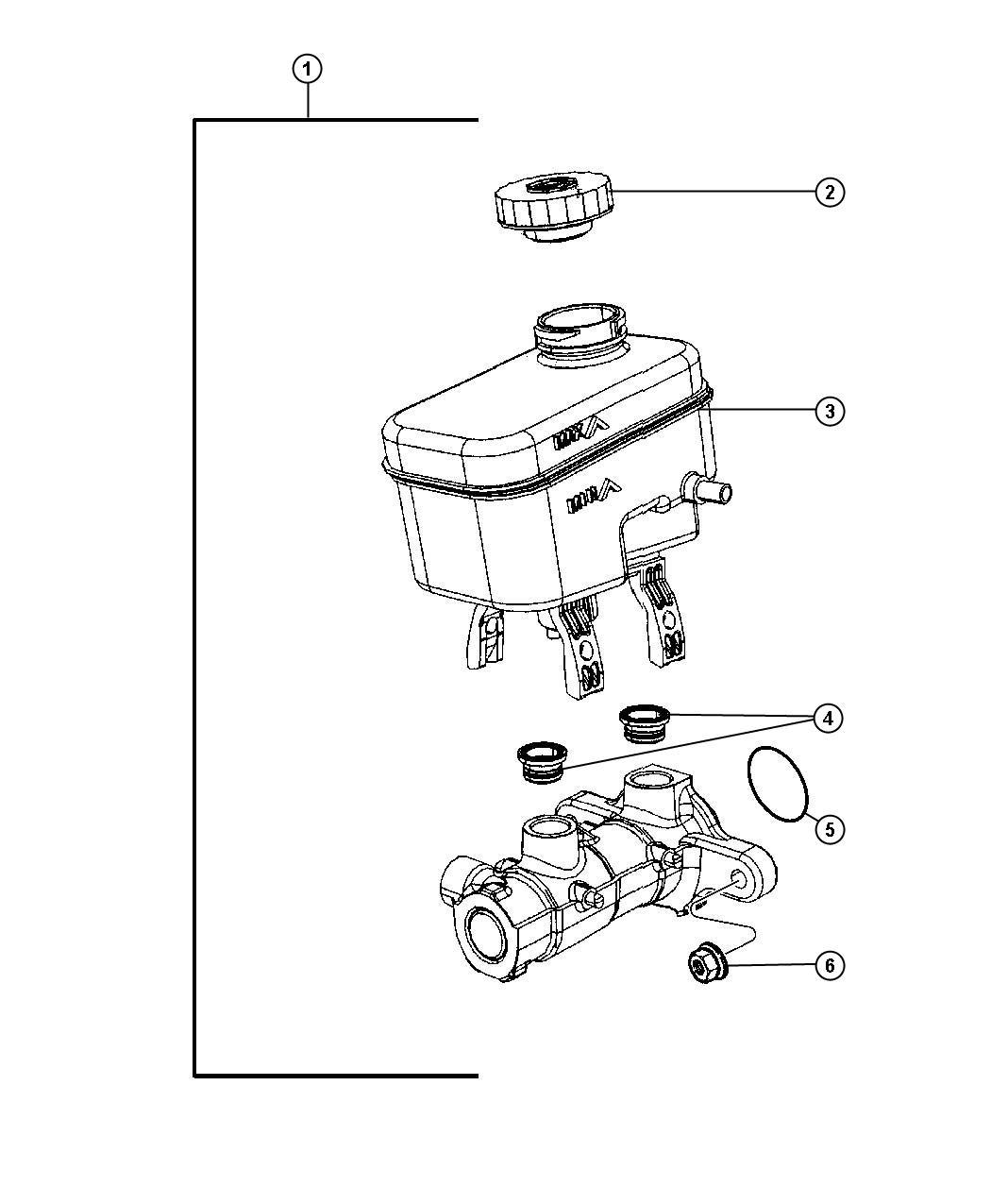 Dodge Nitro Switch Brake Fluid Level Brakesstopstart