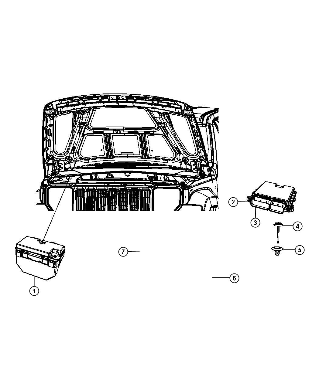 2008 Jeep Liberty Module. Totally integrated power