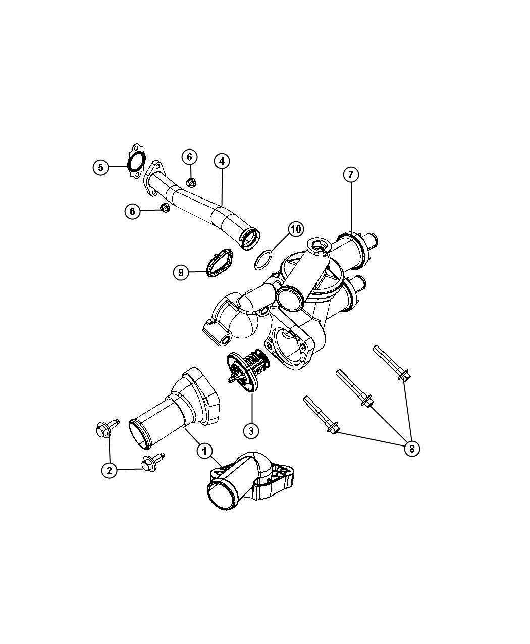 2012 Dodge Avenger Adapter package. Coolant. After [10-17