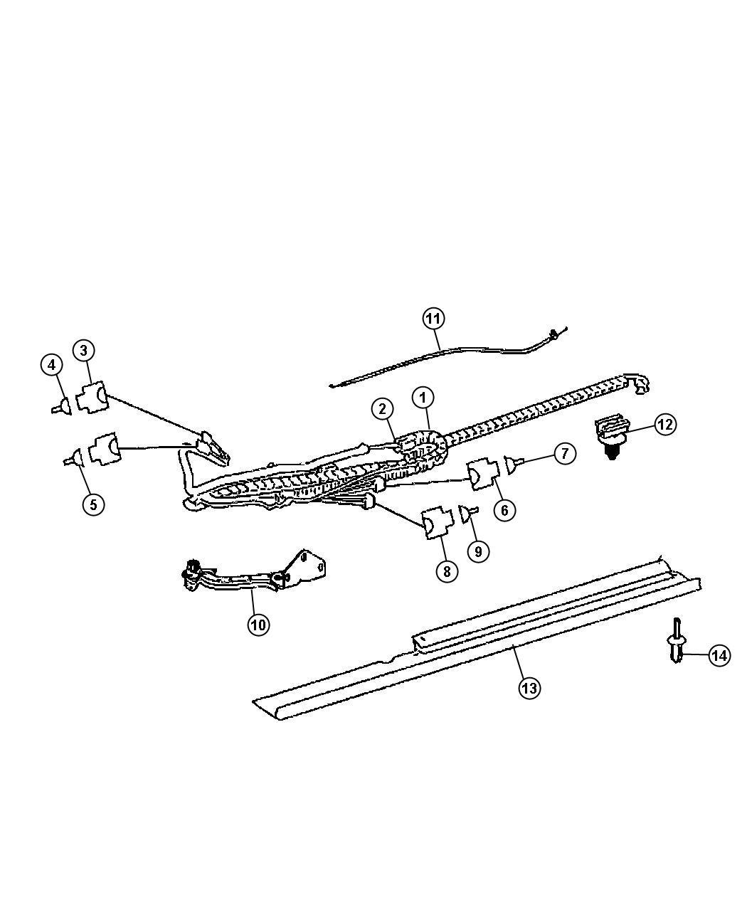 Sliding Door Parts: Dodge Sprinter Sliding Door Parts