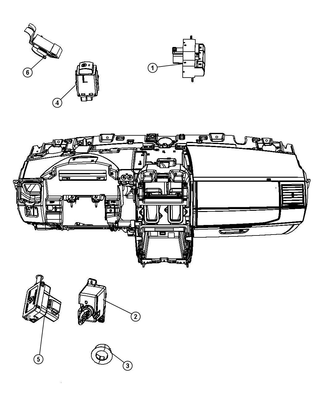 Chrysler Town & Country Switch. Inverter. 110 v inverter