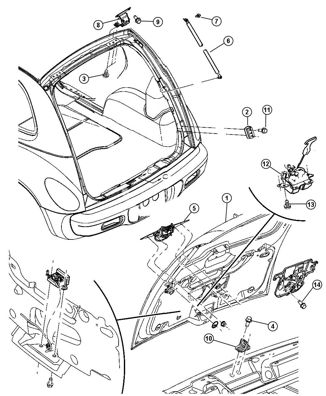 Chrysler Pt Cruiser Front Bumper Parts Diagram. Chrysler