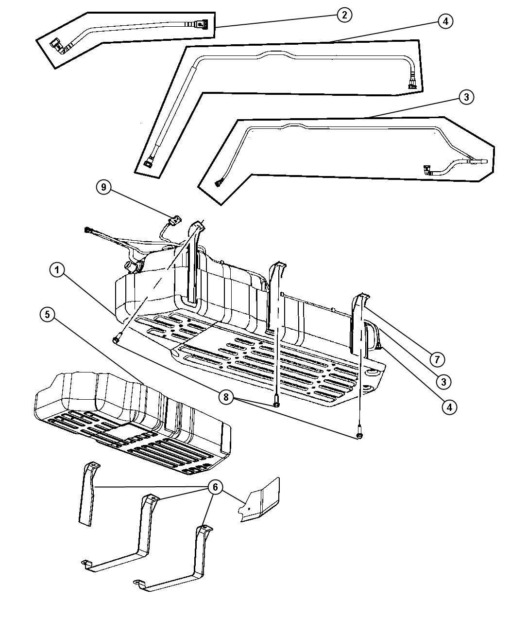 Dodge Ram Retainer Kit Quick Connect Shieldchina